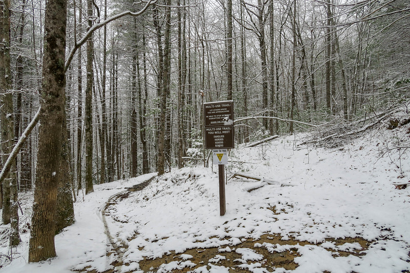 Ridgeline Trail -- 2,710'