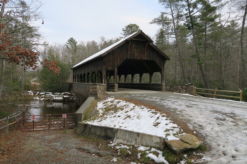 Little River Covered Bridge  -- 2,500'