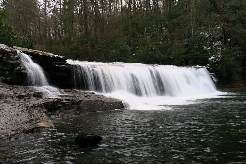 Hooker Falls  -- 2,220'