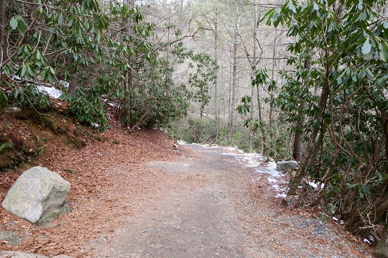 Triple Falls Trail  -- 2,330'