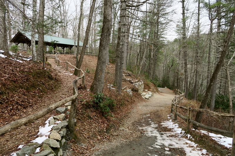 Triple Falls Trail  -- 2,370'