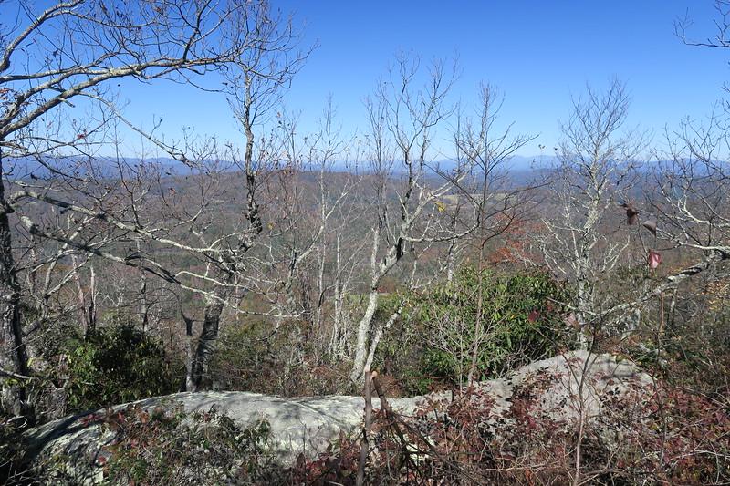 Stone Mountain Summit Ridge Path --  3,650'