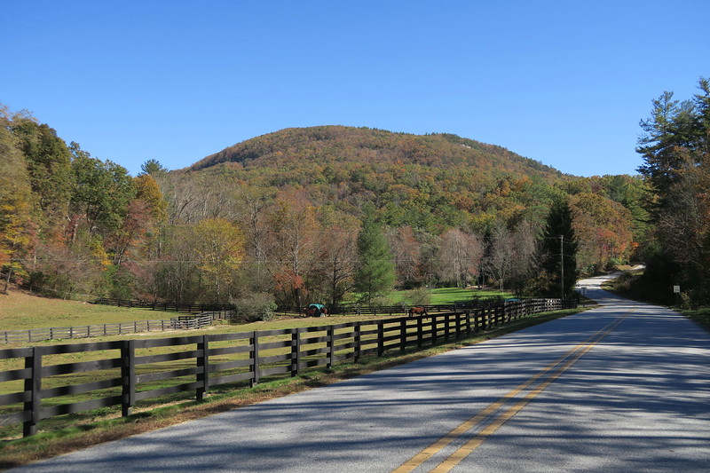 Stone Mountain from Sky Valley Road -- 2,400'