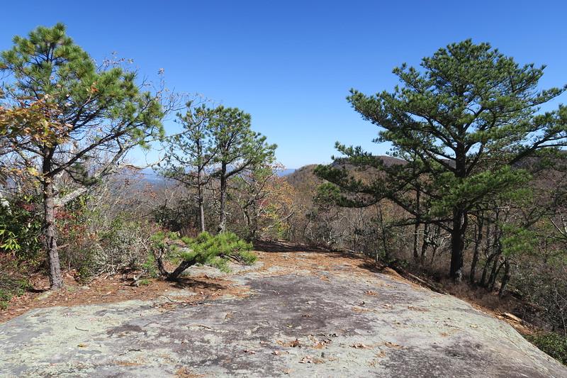 Stone Mountain Summit Ridge Path --  3,640'