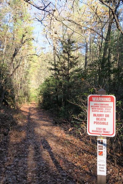 Wintergreen Falls Trail