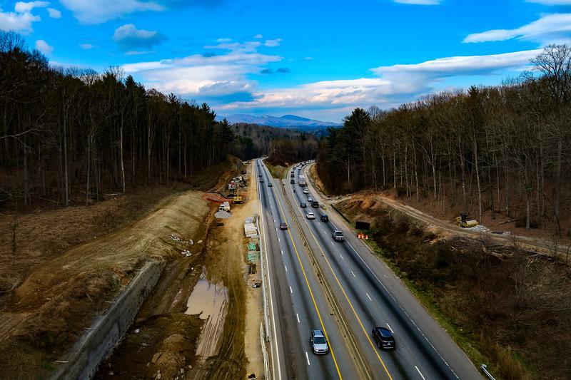 Mountains-to-Sea Trail @ BRP/Interstate 26 Bridge -- 2,250'