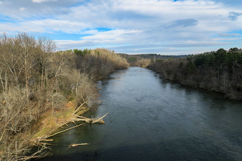 French Broad River -- 2,080'