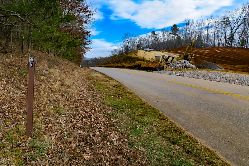 Mountains-to-Sea Trail (Blue Ridge Parkway) -- 2,270'