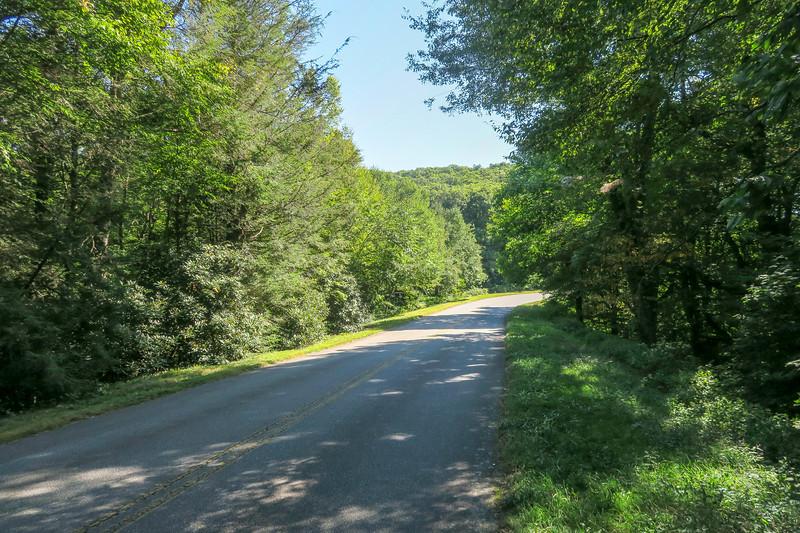 Mountains-to-Sea Trail @ Bennett Gap -- 4,400'