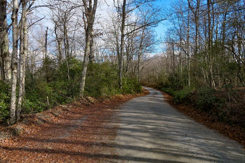 Mountains-to-Sea Trail/F.R. 106 -- 2,660'