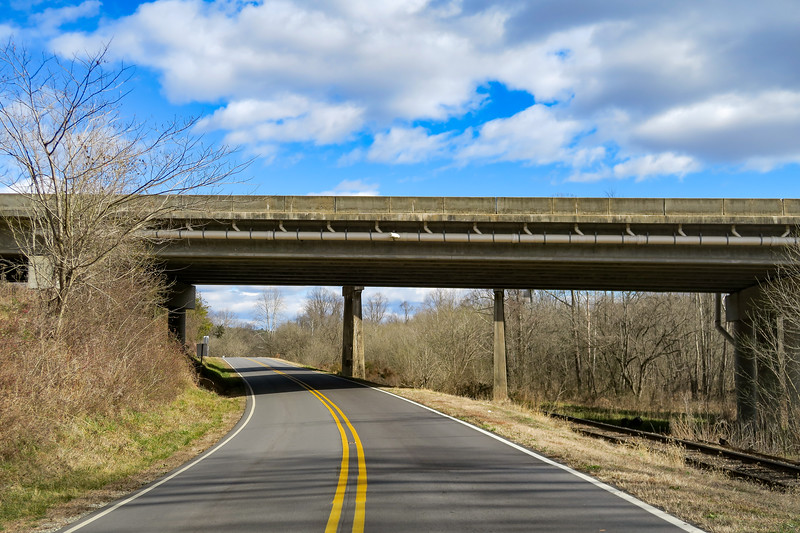 Highway NC-268 (MST) @ Interstate-77 -- 890'