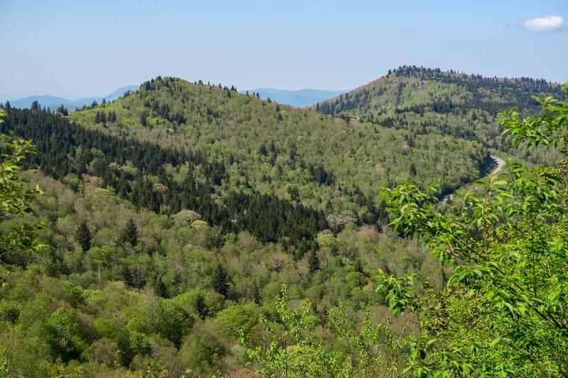 Mountains-to-Sea Trail -- 5,560'