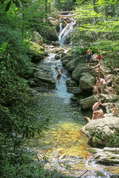 Skinny Dip Falls -- 4,350'