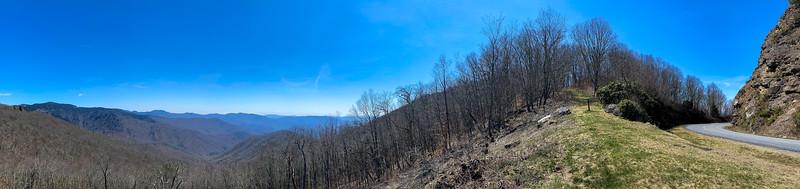 Old Bald MST Access (Blue Ridge Parkway) -- 5,580'