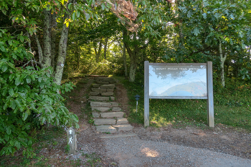 Pisgah Inn Trailhead (Mountains-to-Sea Trail) -- 4,950'