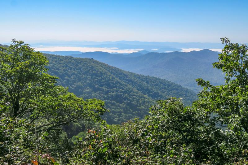 Mountains-to-Sea Trail -- 5,070'