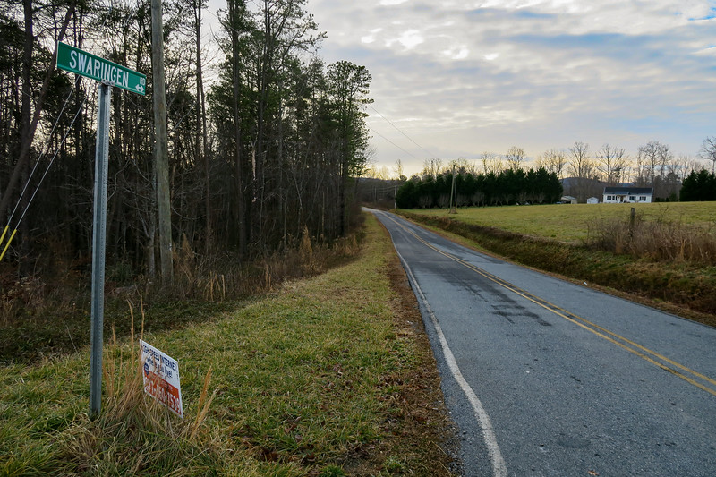 Traphill Road/Swaringen Road Intersection -- 1,450'