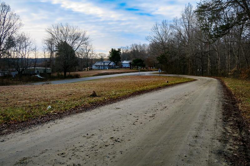 Traphill Ridge Road/Traphill Road Intersection -- 1,320'