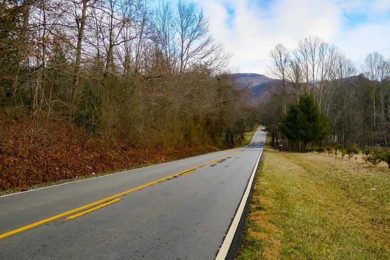 Traphill Road -- 1,300'