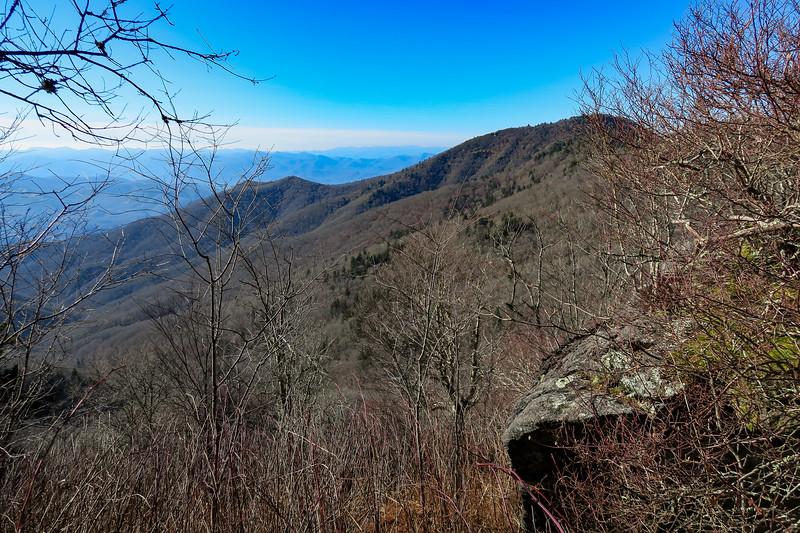 Mountains-to-Sea Trail -- 5,790'