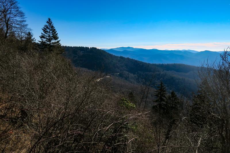 Mountains-to-Sea Trail -- 5,710'