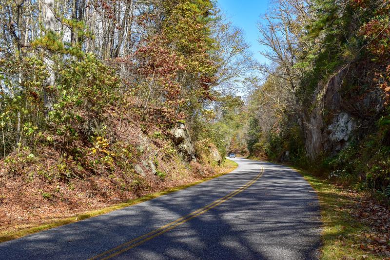 Blue Ridge Parkway/M.S.T. -- 2,300'