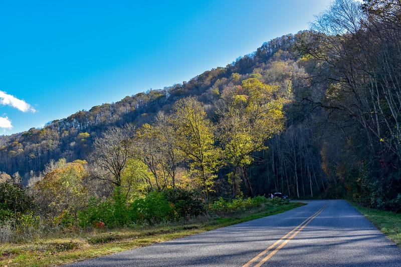 Blue Ridge Parkway/M.S.T. -- 2,450'