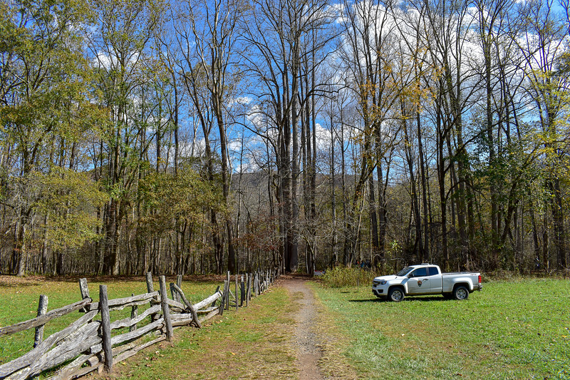Mountains-to-Sea Trail (Oconaluftee River Trail) -- 2,020'