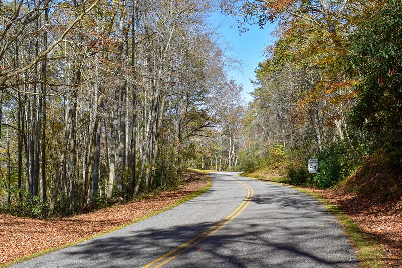Blue Ridge Parkway/M.S.T. -- 2,100'