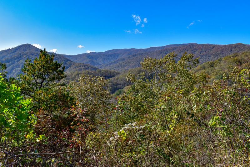 Raven Fork Overlook -- 2,400'