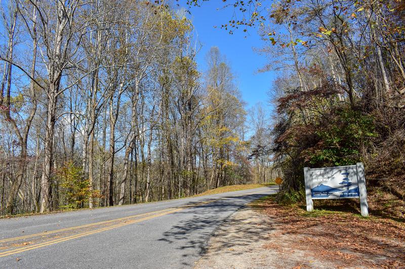 Blue Ridge Parkway/M.S.T. -- 2,040'