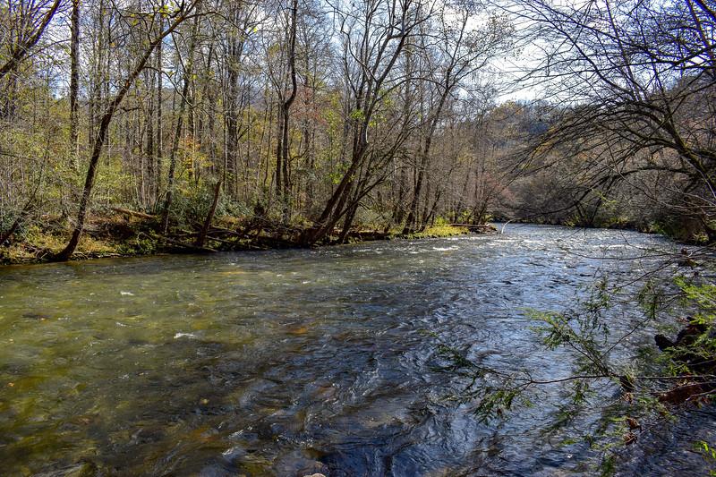 Oconaluftee River -- 2,010'