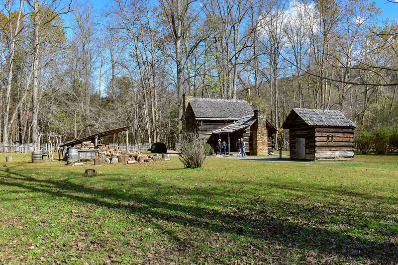 Mountain Farm Museum -- 2,030'