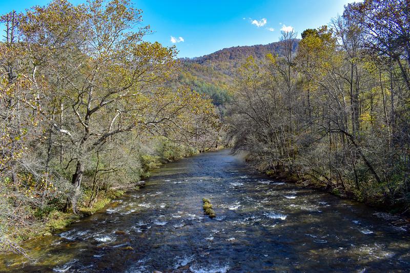 Oconaluftee River -- 2,000'