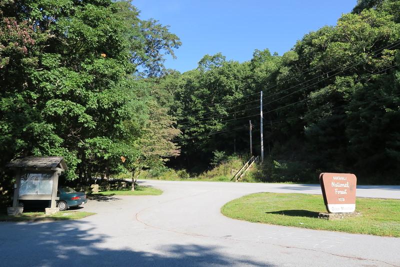 Bartram Trail - NC 106 Trailhead - Osage Mt Overlook - 3,680'