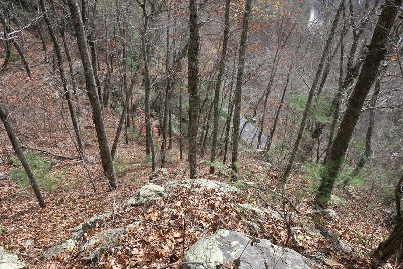 Cedar Cliff Bushwhack - 2,670'