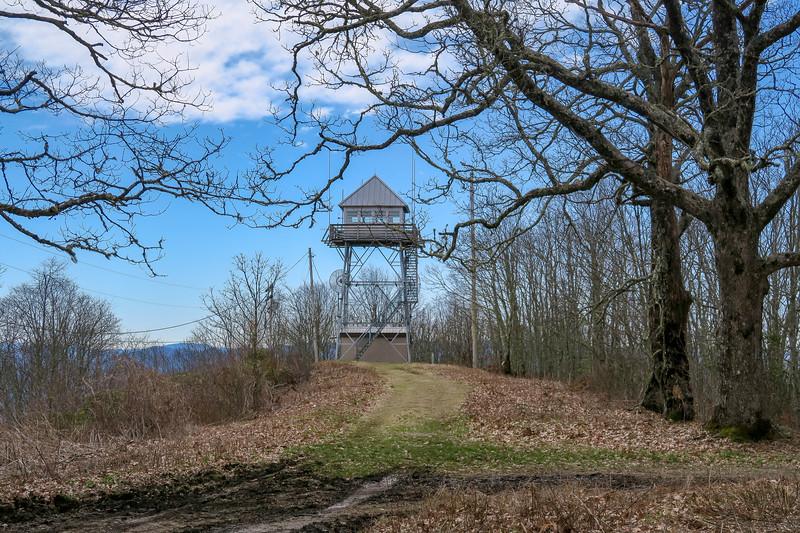 Cowee Bald Lookout Tower -- 4,944'