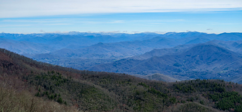 Cowee Bald Lookout Tower -- 4,944'