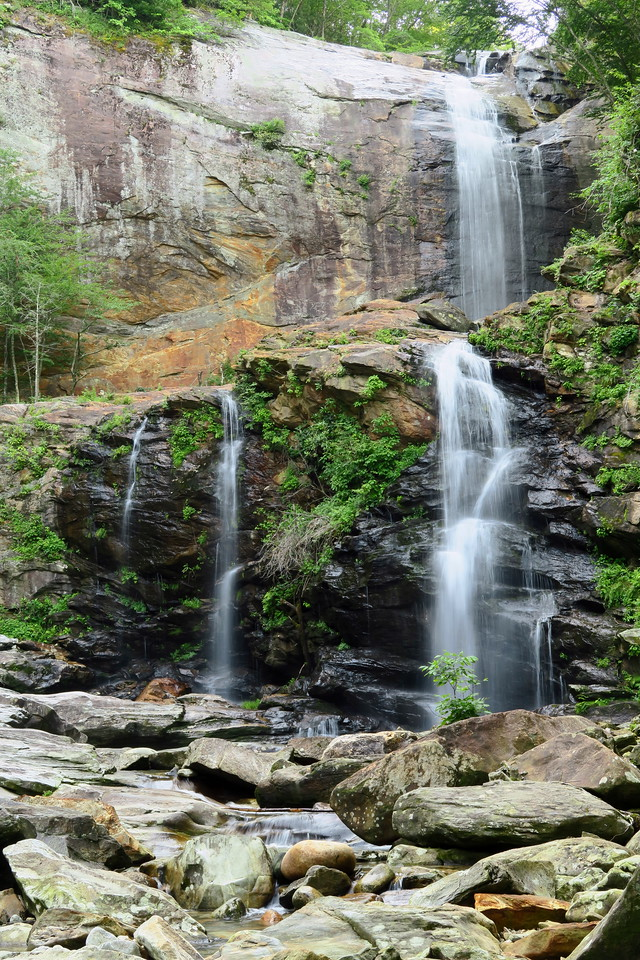 High (Cullowhee) Falls -- 'normal' flow