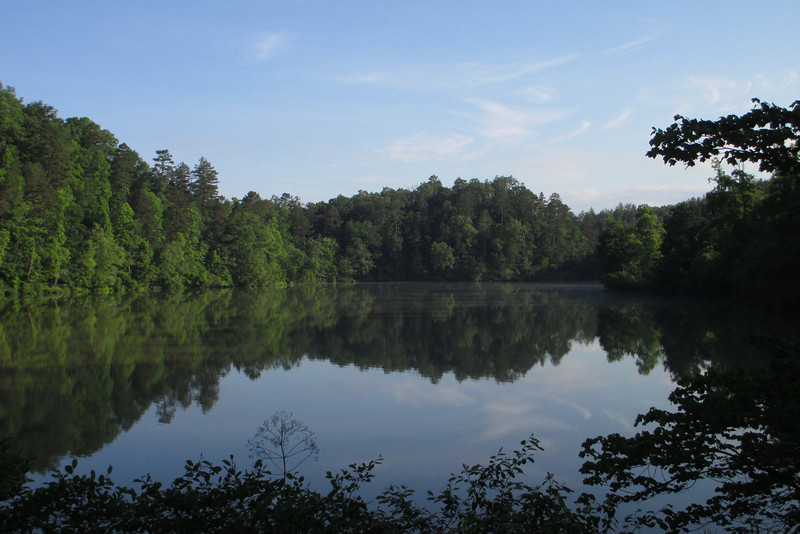 Cherokee Lake in the early morning sun, quite a tranquil spot I thought...