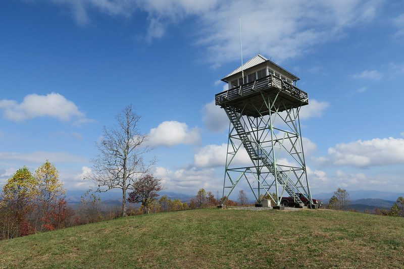 Panther Top Lookout Tower -- 2,293'