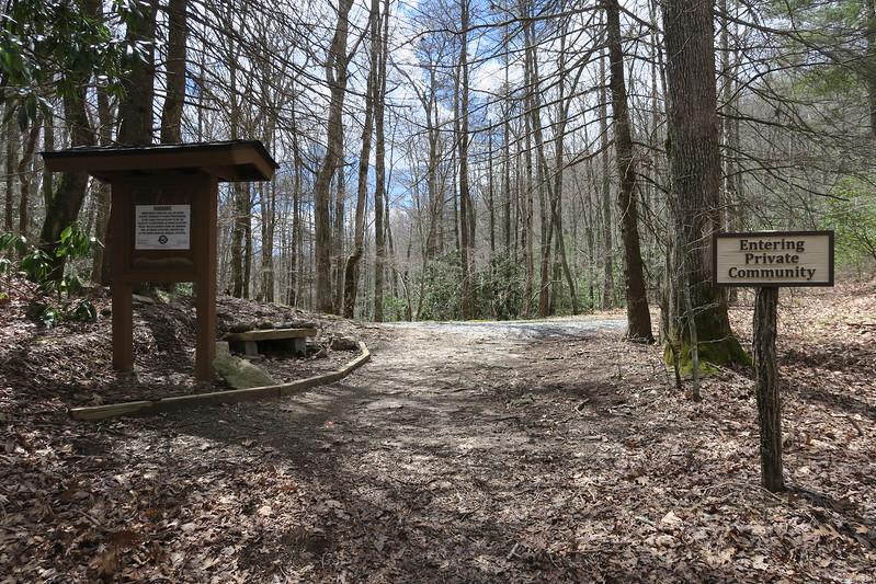 Deep Gap Trail - 3,850'