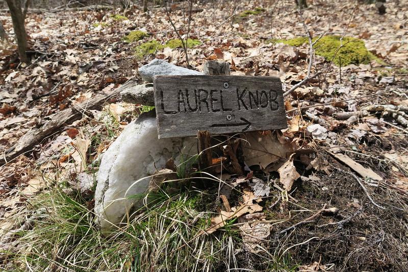 Deep Gap-Laurel Knob Trail Junction - 3,840'