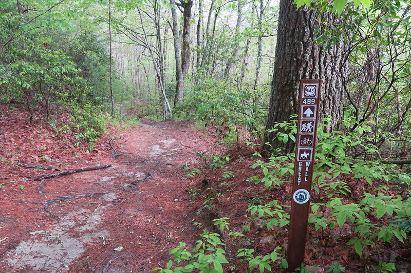 Deep Gap-Great Wall Trail Junction
