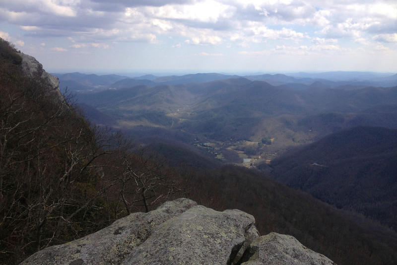 Pickens Nose, Macon County (4-1-13)