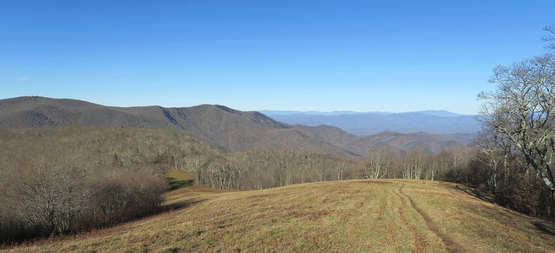 Siler Bald Spur Trail -- 5,100'