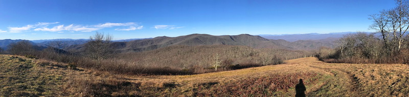 Siler Bald Spur Trail -- 5,180'