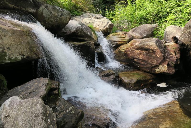 Whitewater Falls Base Bushwhack