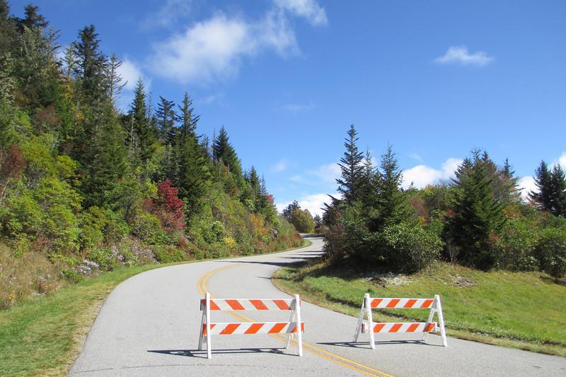 Blue Ridge Parkway - Waterrock Knob Road