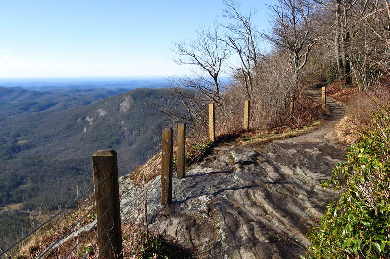 Whiteside Mountain Loop Trail